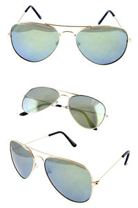 Air Force Aviator Sunglasses - Army Green