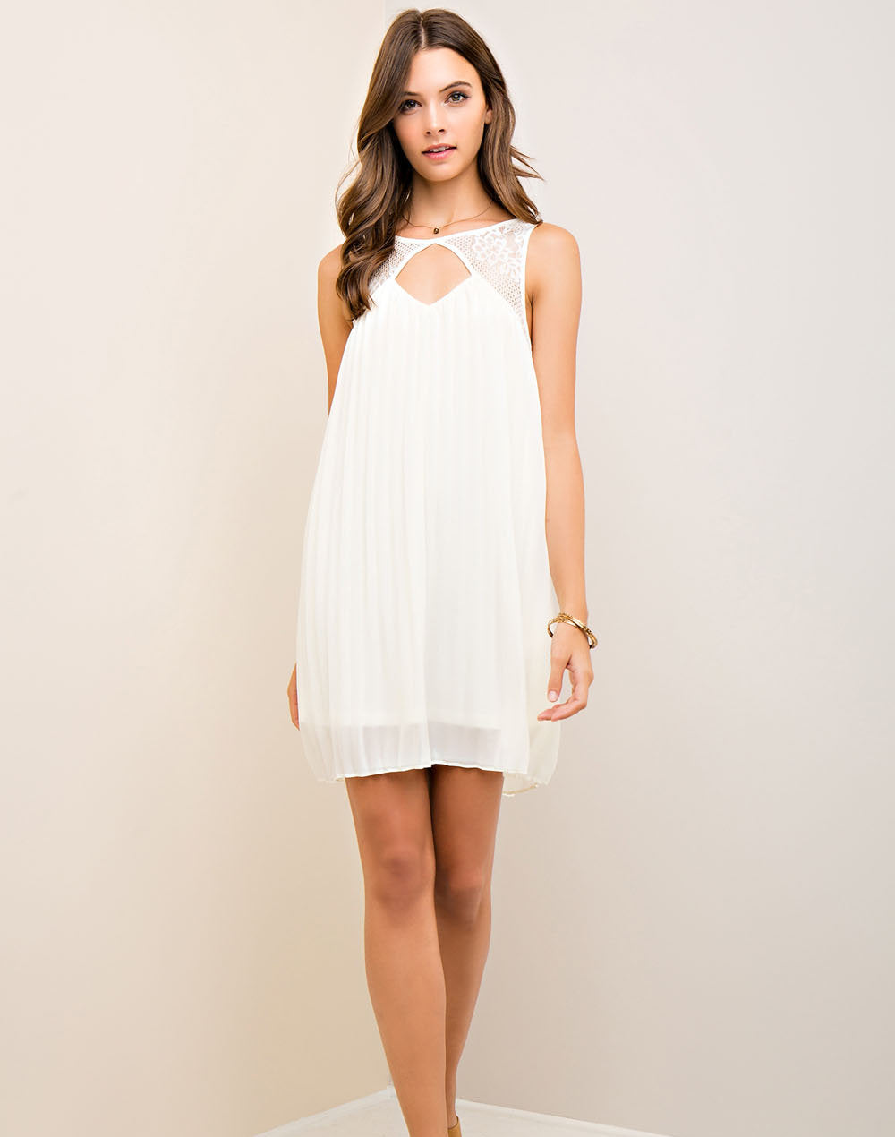 Love Me Tender Dress - Cream