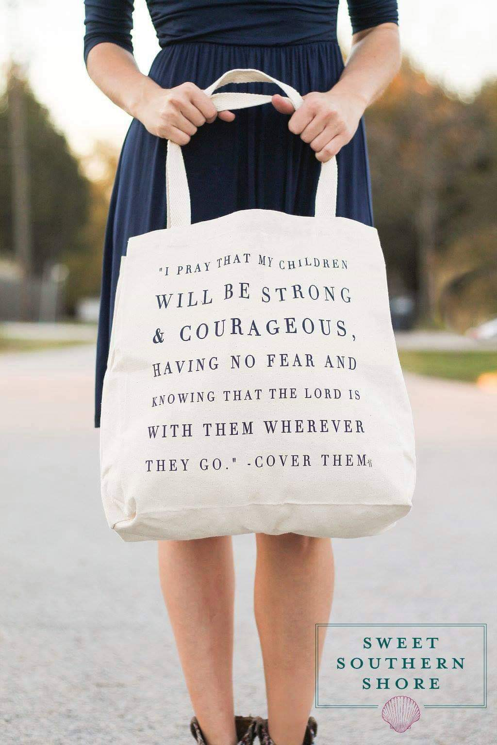 Strong & Courageous Bag
