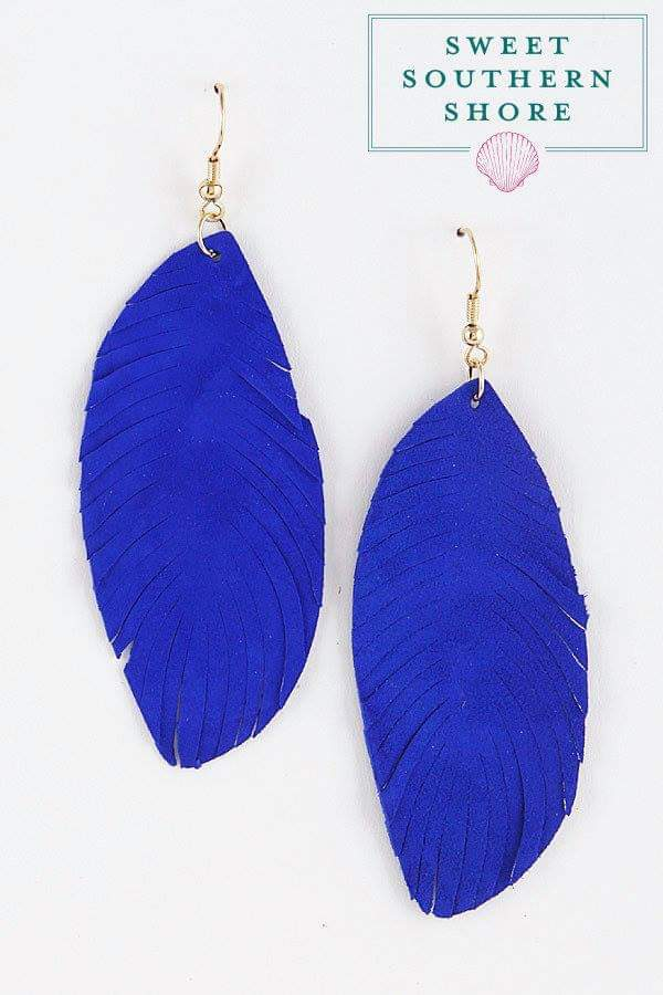 Light As A Feather Earrings - Multiple Colors Available
