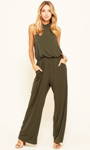 What You Are Looking For Jumpsuit | Olive