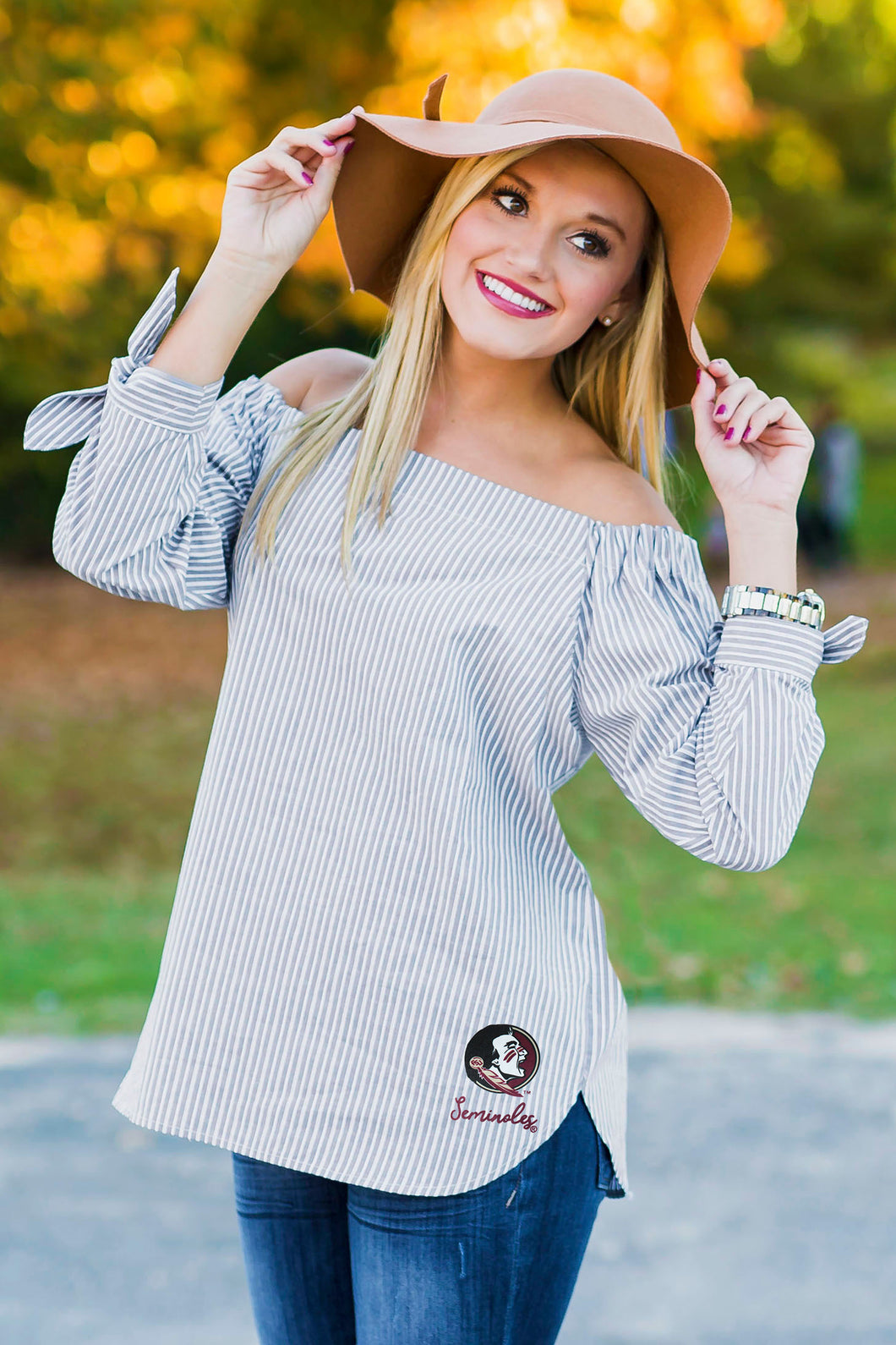 Shoulder Love | Game Day Top - Florida State University