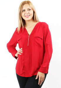 It's Your Love Top - Red