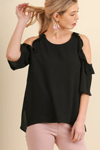 Love Ruffle Top - Black
