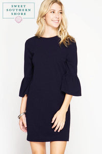 Always A Winner Dress - Navy