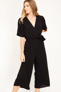 Well Hello Jumpsuit- Black