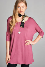 Pull Me Closer Top - Mauve