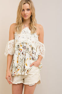 Sweet Southern Love Top - Ivory