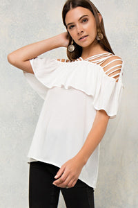 Love Me Tender Top - Off White