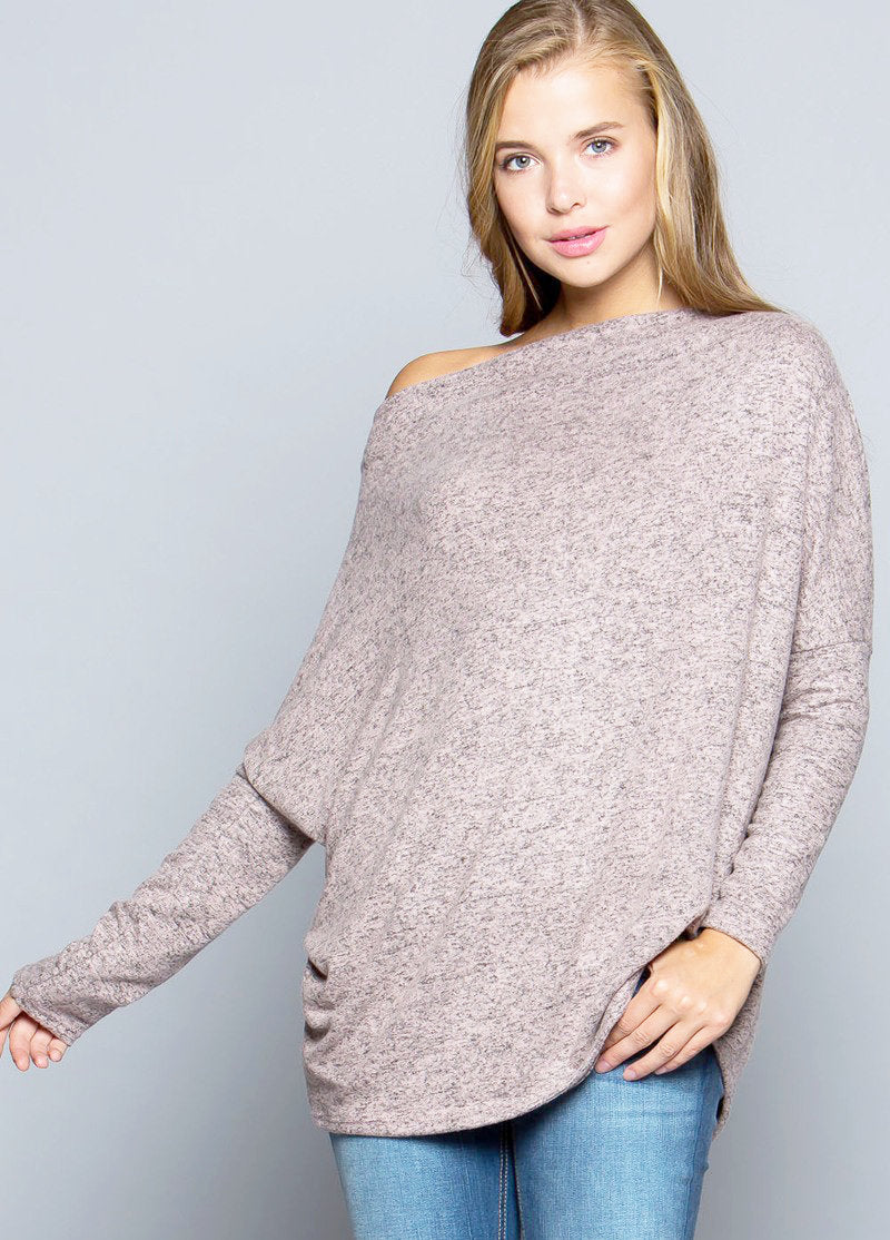 Something Sweet Sweater - Dusty Pink