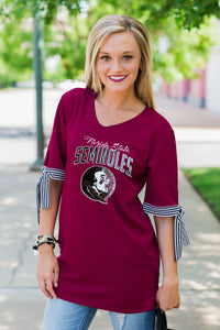 Game Changer | Game Day Jersey Top - Florida State University