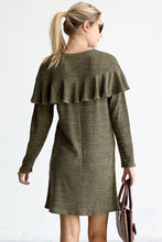 Go With The Flow Dress - Olive