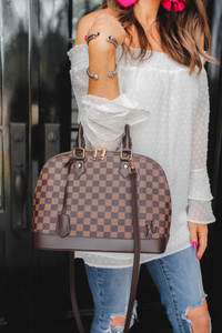 Tiffany Checkered Handbag