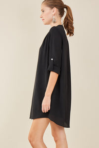 Surrounded By Beauty Dress - Black
