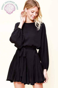Night On The Town Dress - Black