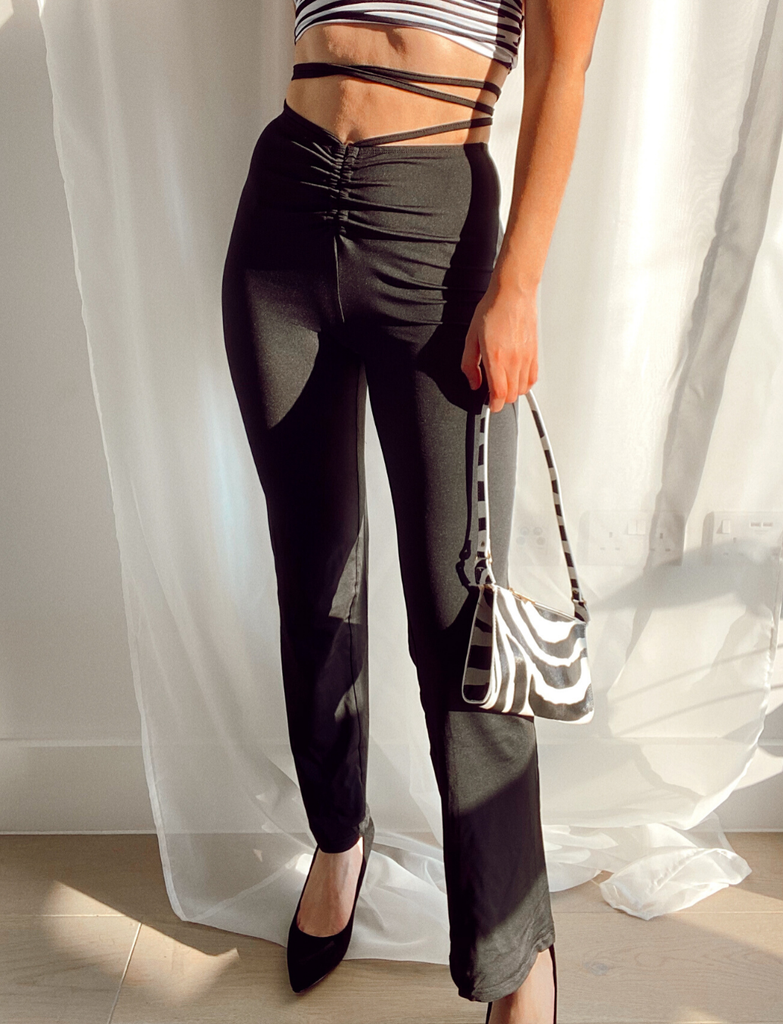 JADE TROUSERS WILD PEACH