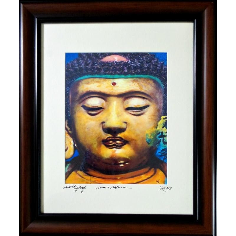 "'Serene Repose' Asian Fusion Series Limited Edition Artist Proof 19"" x 23"" Framed"