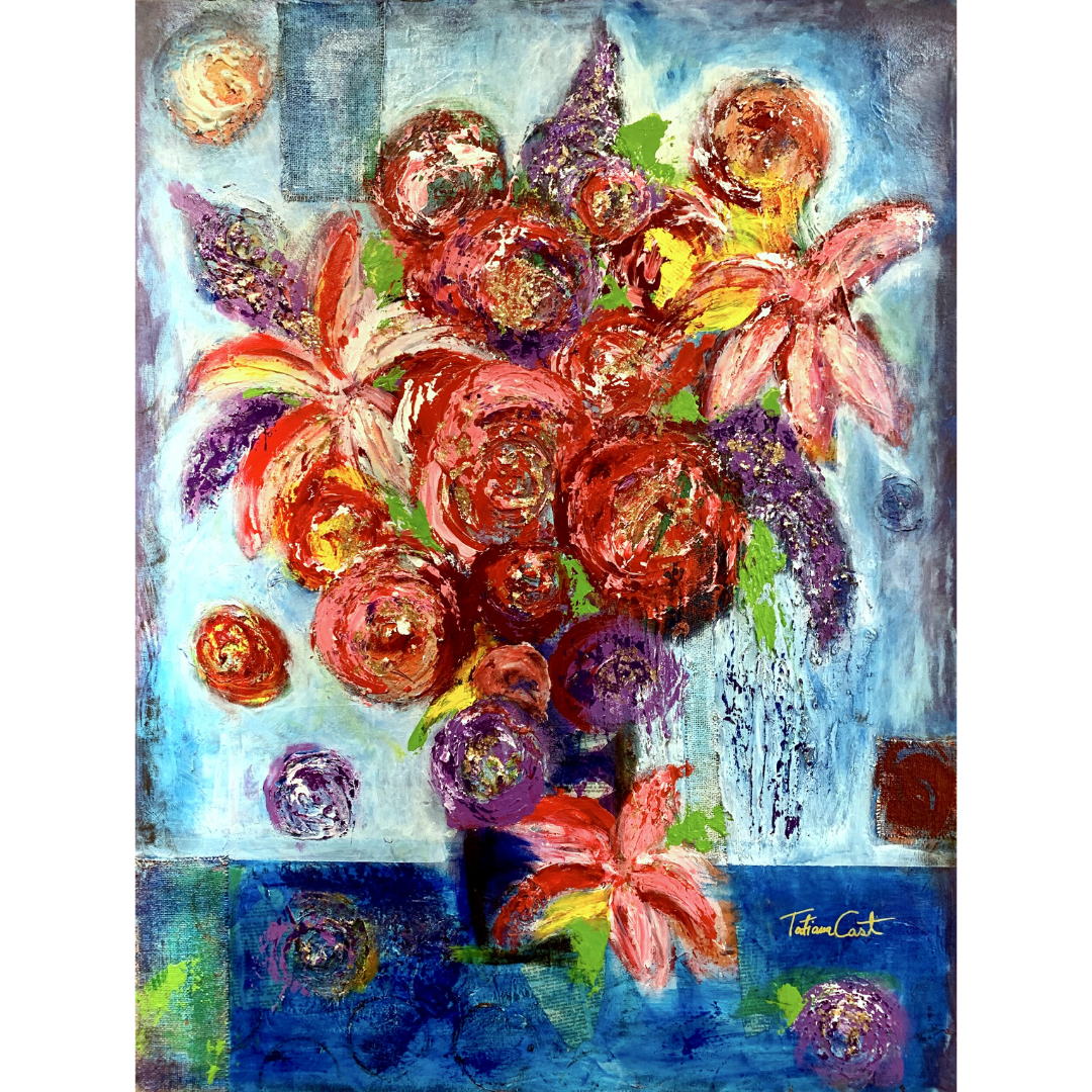 'Regal Bouquet' Original Painting