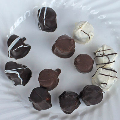 Handcrafted Tropical Truffles (Guava-Rum/Lemon-Mac Nut/Kona Cafe Ole/Lilikoi-Coconut assortment)