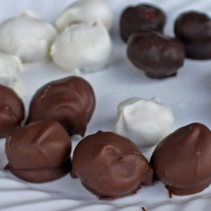 Individually Hand-Dipped Chocolate Covered Macadamia Nuts (Dark)