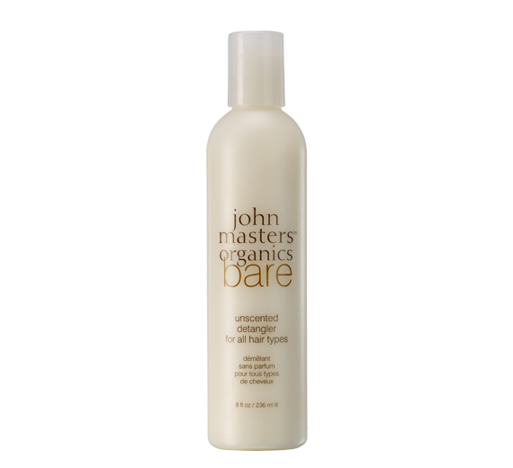 bare unscented detangler