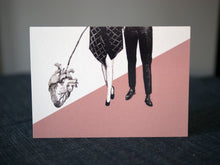 A Walk With a Heart Greeting Card
