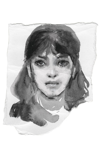 Portrait 2. - About Face Illustration