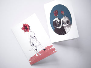 Mother Flower Card