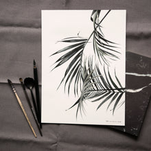 Palm Tree Watercolour Print - About Face Illustration