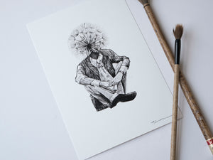 Dandelion - About Face Illustration