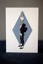 Fork Greeting Card