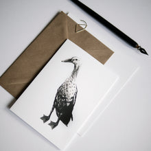 Goose Greeting Card