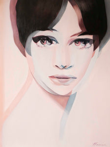 Anna Karina oil painting reproduction
