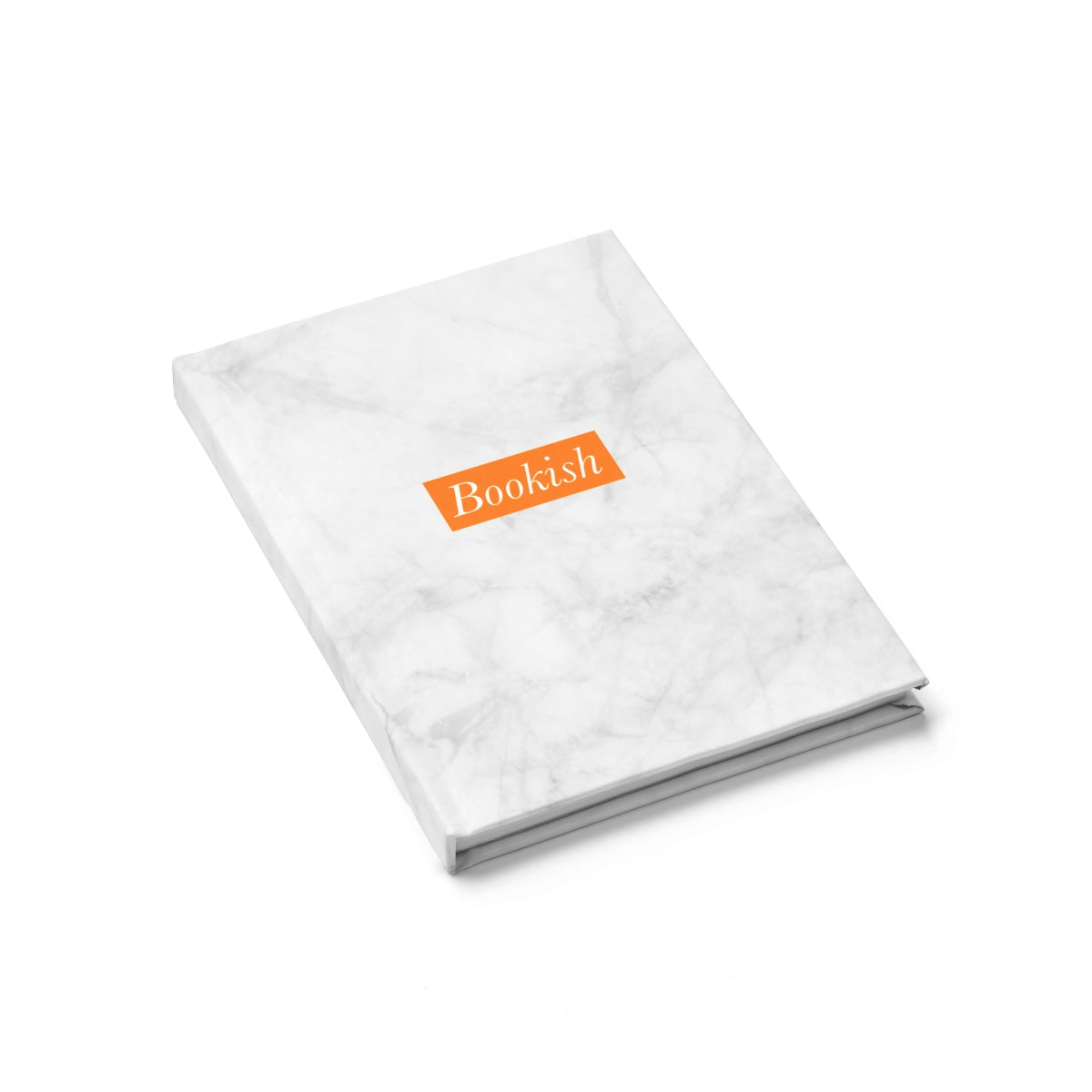 Journal Notebook - Marble Blanc