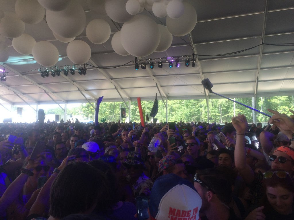 firefly music festival experience Pavilion stage