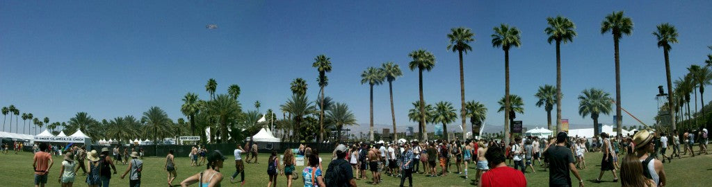 coachella music festival skyline