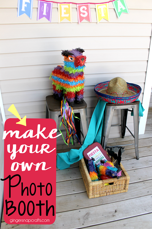 DIY Cinco de Mayo Photobooth