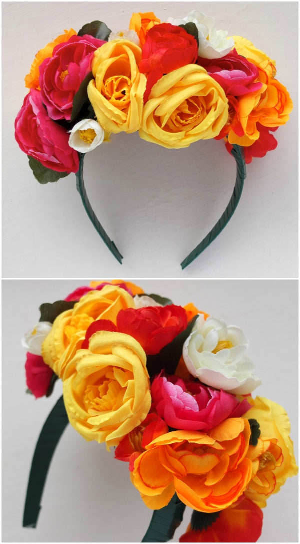 DIY Mexican Floral Headband