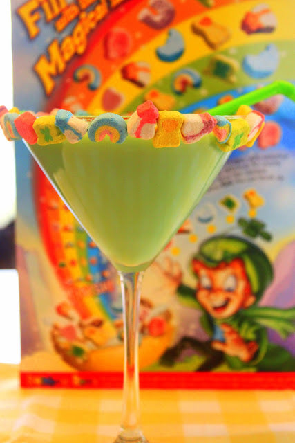 st patricks day martini