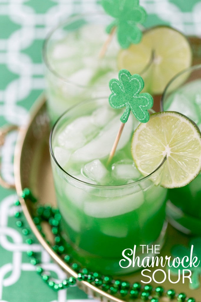 st. patricks day party cocktail