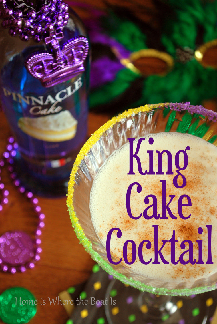 mardi gras party cocktail