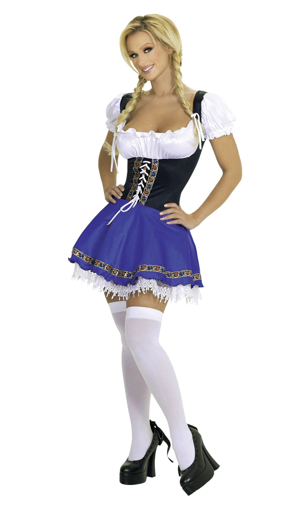 1-Piece-German-Beer-Girl-Oktoberfest-Mini-Dress-Costume