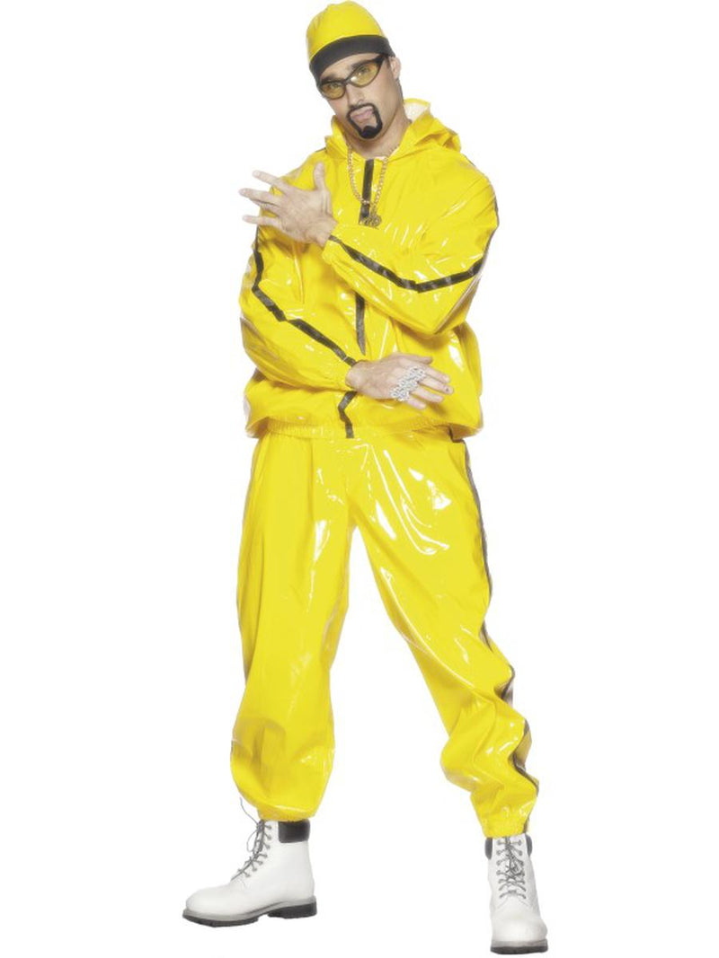 3-PC-Funny-Rapper-Yellow-Jacket-&-Trousers-w/-Hat-Party-Costume