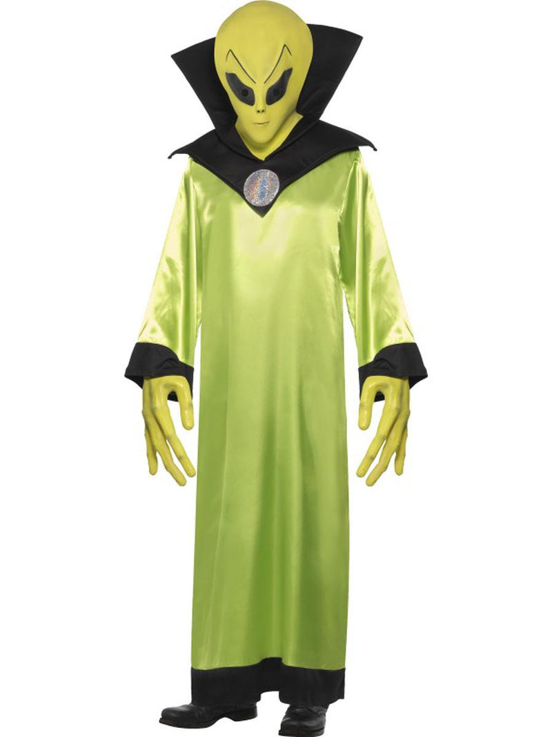 4-PC-Unisex-Alien-Extraterrestrial-UFO-Lord-Robe-&-Accessories-Party-Costume-