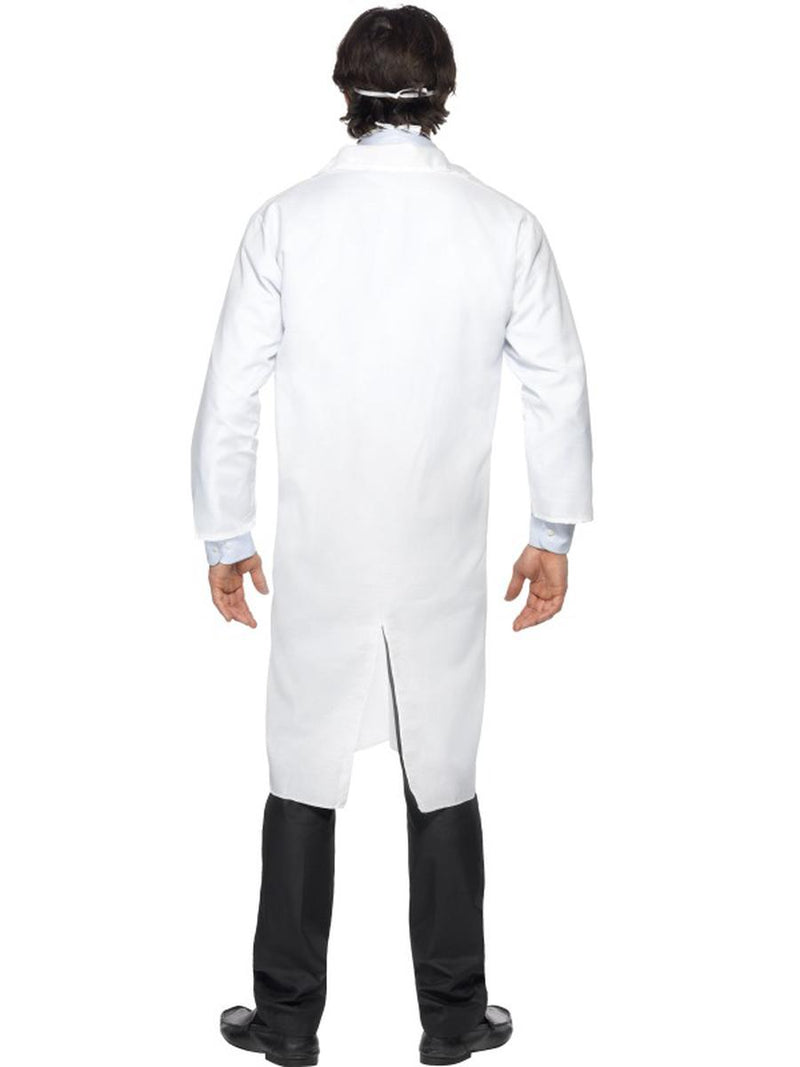 2 PC Medical Hospital Doctor White Long Coat & Mask Party Costume - Fest Threads