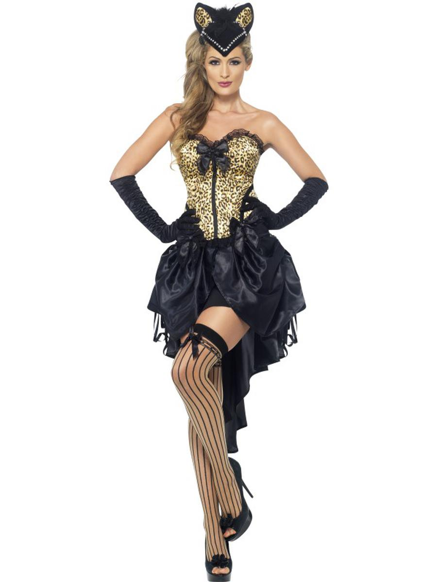 2-PC-Burlesque-Madam-Dancer-Leopard-Print-Corset-Top-&-High-Low-Skirt-Costume