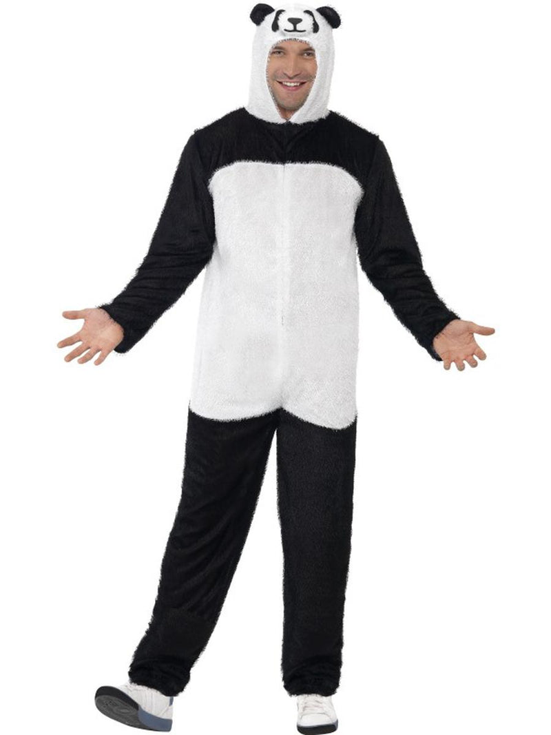 2-PC-Unisex-Asian-Panda-Bodysuit-&-Open-Hood-Party-Costume