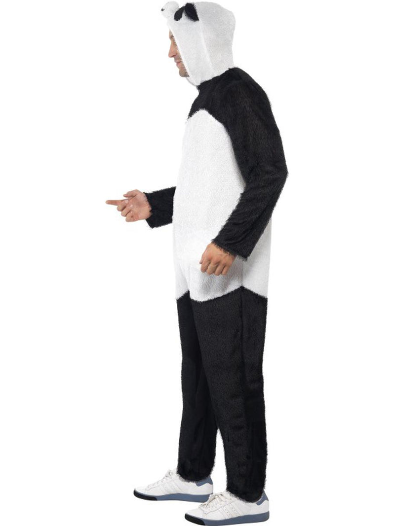 2 PC Unisex Asian Panda Bodysuit & Open Hood Party Costume - Fest Threads