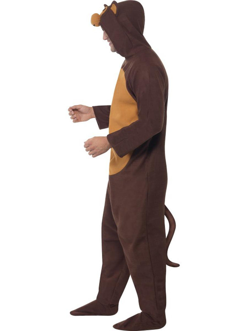 1 PC Unisex Brown Bear Hooded Jumpsuit Bodysuit Party Costume - Fest Threads