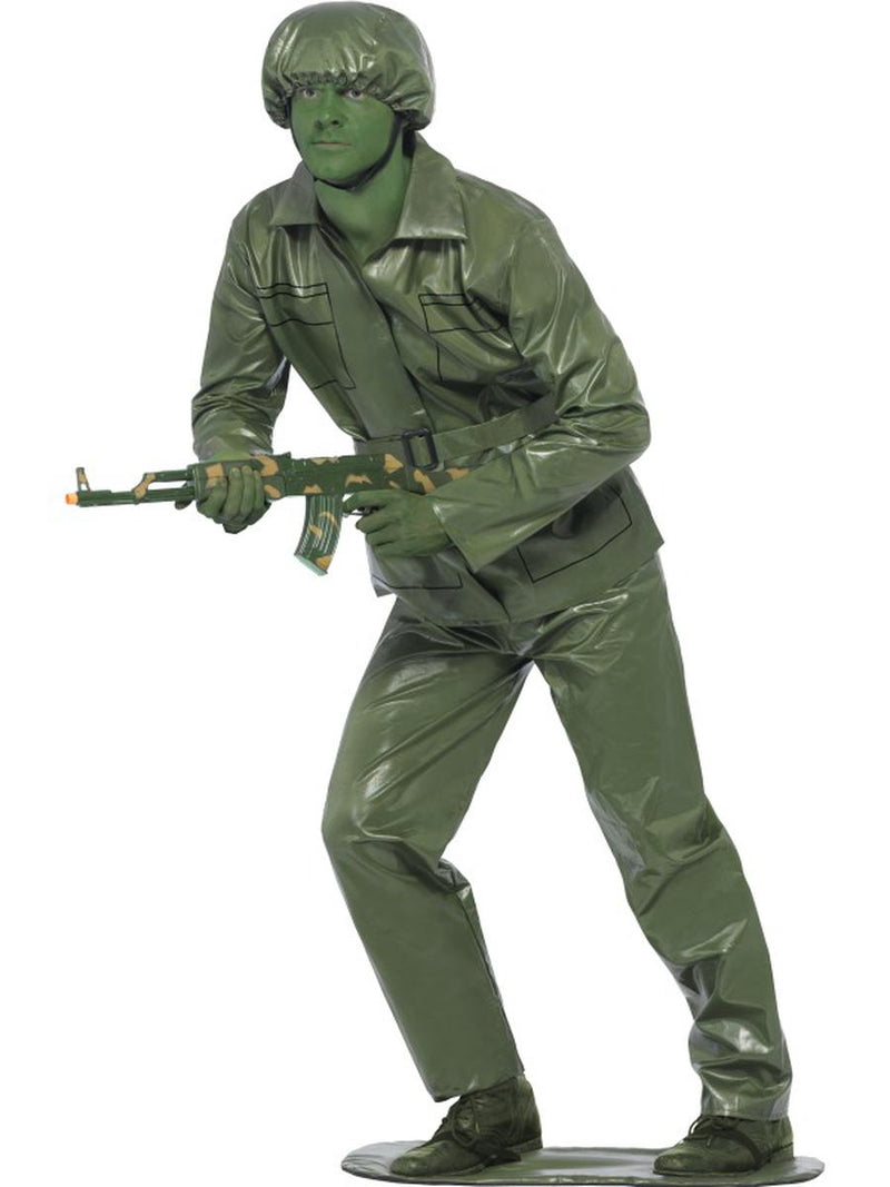 5-PC-Men's-Toy-Soldier-Military-Guy-Green-Top-&-Pants-w/-Accessories-Costume
